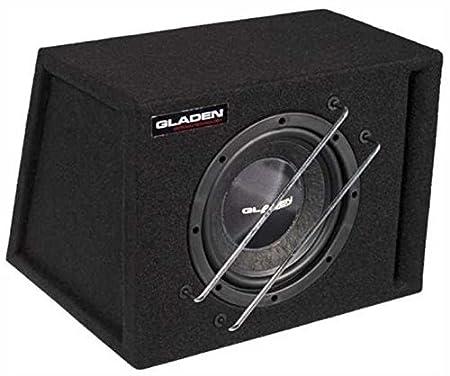 Gladen rS 08-vB gehäusesubwoofer bass reflex 20 cm