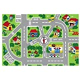 "City Truck Children Area Rug 39""x58"""