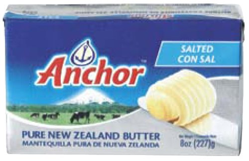 Anchor Butter, Salted Case Of 40 X 1/2 Lb Packs