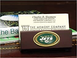 New York Jets Team Business Card Holder NFL Football Fan Shop Sports Team Merchandise
