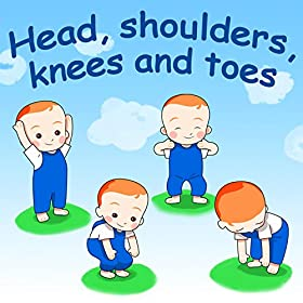 amazon com head  shoulders  knees and toes belle and the heads shoulders knees and toes wiggles heads shoulders knees and toes in french