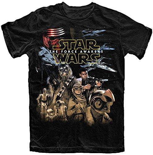 Star Wars The Force Awakens Resistance T Shirt