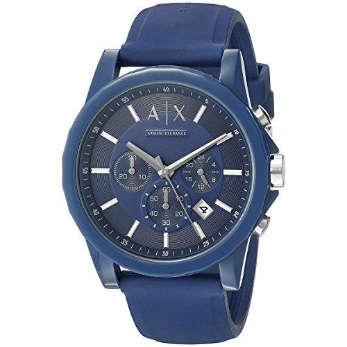 Armani-Exchange-Unisex-AX1327-Analog-Display-Quartz-Blue-Watch