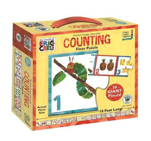 The Very Hungry Catepillar Counting Floor Puzzle ()