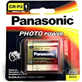 1 PCS PANASONIC CR-P2 LITHIUM 6V BATTERY PHOTO POWER DL223A EL223AP DATE 2023