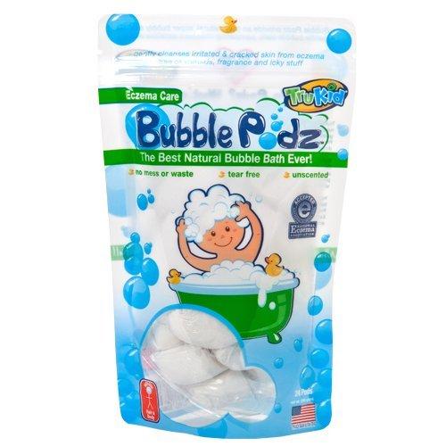 TruKid Eczema Care Bubble Podz, 24 count