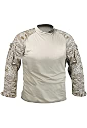 Military Combat Shirt in Solid and Camouflage Colors