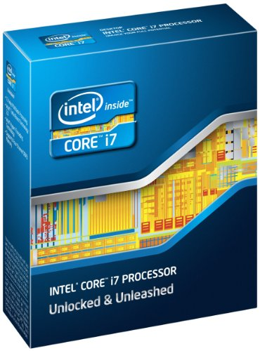 Intel BX80619I73930K Core i7-3930K 6-Core Processor (3.2GHz (3.8GHz Turbo), Socket 2011, 12MB L3 Cache, Turbo Boost 2.0)