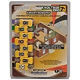 Triplett Byte Brothers Smart Remotes for Multiple CAT 5/6 Cables and Jacks for Triplett Low Voltage Pro Cable Testers LVPRO 20/30/30SR (LVPRO-SR) (Color: Yellow, Tamaño: LVPROSR)