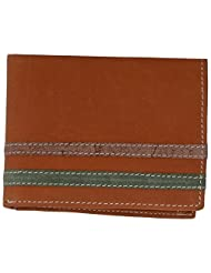 MC MARCCHANTAL Brown Men's Leather Wallet