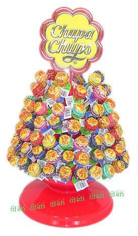 ★日本全国送料無料★チュッパチャップスディスプレイツリー+キャンディ120本(チュッパツリー)