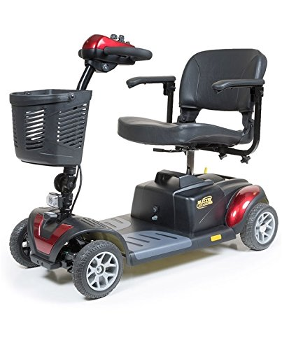 Golden Technologies 2015 Buzzaround XL 4 Wheel Mobility Scooter in Red – GB147