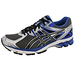 ASICS Men\'s GT-1000 3 4E Running Shoe,Lightning/Black/Royal,7.5 4E