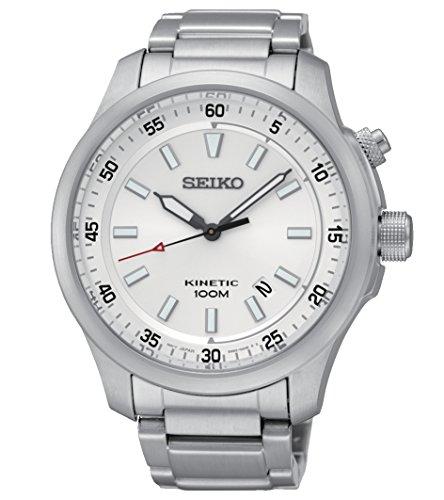 Herren-Armbanduhr Kinetic Analog Quarz Edelstahl SKA683P1