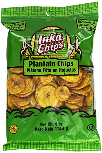 Inka Crops Original Plantain Chips 4 oz (Pack of 12) (Deep River Kettle Chips Variety compare prices)