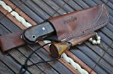 Sale - Custom Handmade Damascus Hunting Knife Beautiful Bushcraft Knife - Work of Art
