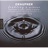 Graupner: Frühling & Winter Partitas for Harpsichord Vol.6