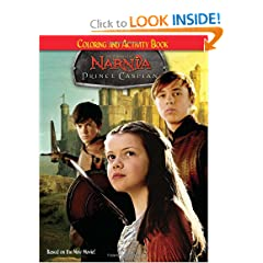 Prince Caspian: Coloring and Activity Book (Narnia) by Nora Pelizzari,&#32;Steven E. Gordon,&#32;Rick Bonilla and Wesley Gunn