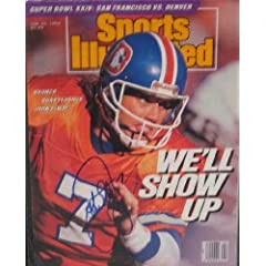 Buy John Elway autographed Sports Illustrated Magazine (Denver Broncos) Jan 1990 by Autograph Warehouse