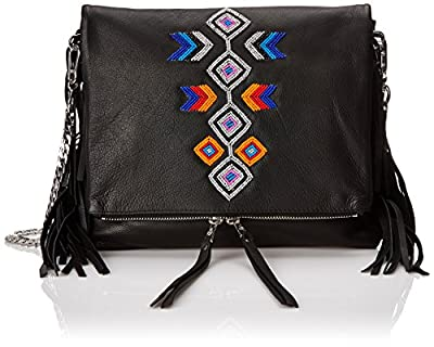 Ash Talulla Fringe Cross-Body Bag