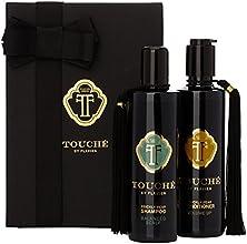 TOUCHE BY FLAVIEN Coffret Cadeau, Shampoing 250ml et Conditioner Volume 250ml