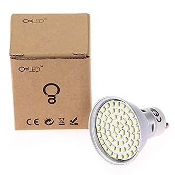 8 X GU10 Ampoule Lampe Spot 3528 SMD 60 LEDs Blanc Nature 7000K 220-240V