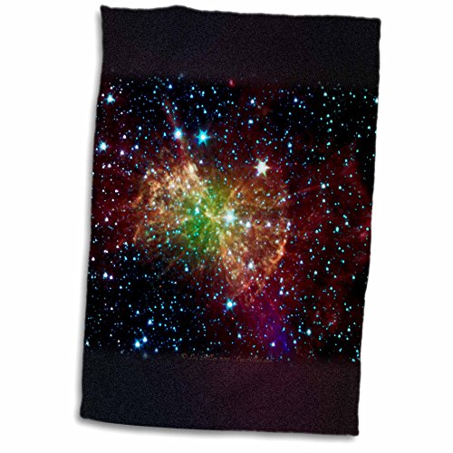 Lee Hiller Designs Space - In the Cosmos - Dumbbell Nebulapia - 11x17 Towel (twl_61548_1)