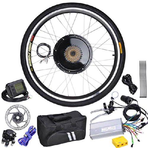 48V 1Kw 26In Rear Wheel Lcd Electric Bicycle Motor Kit