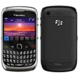 RIM Blackberry Curve 3G 9300 GSM GPRS EDGE Quad-Band 850/900/1800/1900MHZ UNLOCKED, BLACK / SILVER