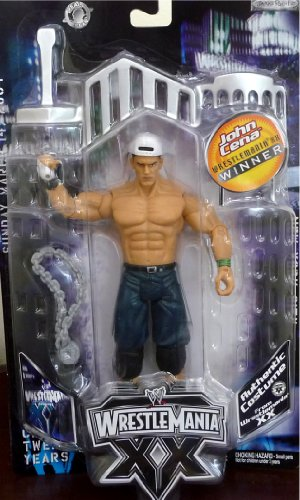 Buy Low Price Jakks Pacific JOHN CENA WWE Exclusive Wrestlemania XX Winners Figure (B004X67K6E)