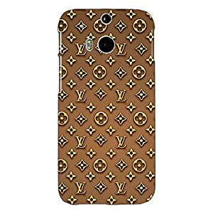 Jugaaduu Louis Vuitton LV Back Cover Case For HTC One M8 Eye
