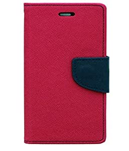 Mercury Flip Cover for MICROMAX CANVAS HD A116 color Pink available at Amazon for Rs.498