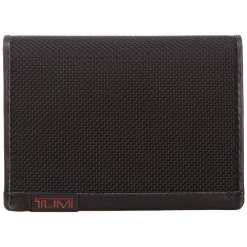 [トゥミ] TUMI 【公式】ALPHA SLG19256ガセット・カードケース・ウィズ・ID 8195602 01 (ブラック)