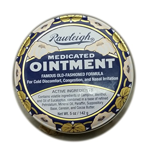 Rawleigh Natural Medicated Ointment and Chest