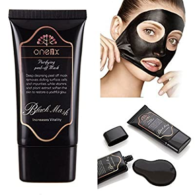ONE1X Purifying Blackhead Whitehead Acne Remover Peel Mud Deep Cleaning Anti Aging Peel-Off Facial Mask
