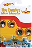 """""""FISH'D N CHIP'D"""" 2016 Hot Wheels THE BEATLES 50th Anniversary """"YELLOW SUBMARINE"""" 1:64 Scale Collectible Die Cast Metal Toy Car Model 1/6"""