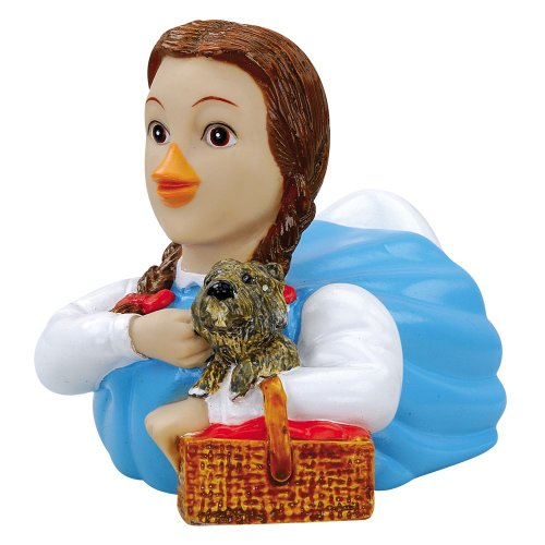 CelebriDucks Wizard of Oz Dorothy RUBBER DUCK Bath Toy