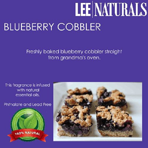 Blueberry Cobbler Premium 6-Piece 6.4 Oz Soy Wax Melt Clamshell - 2-Pack Of Naturally Strong Scented Soy Wax Cubes Throw 50+ Hours Of Fragrance When Melted In Scentsy®, Yankee Candle® Or Standard Electric Tart Warmer front-622420