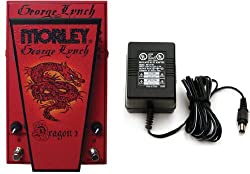Morley George Lynch Dragon 2 Wah Pedal w/ Power Supply by Morley