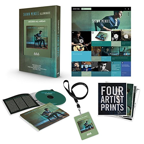 Illuminate Deluxe Shawn Mendes: Shawn Mendes CD Covers