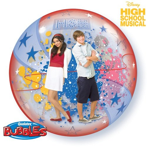 22 High School Musical Stars Bubble Balloon