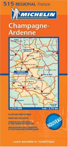 Michelin France Champagne Ardenne (Michelin Maps)