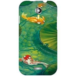 Micromax A117 Canvas Magnus Back Cover - Quite Designer Cases