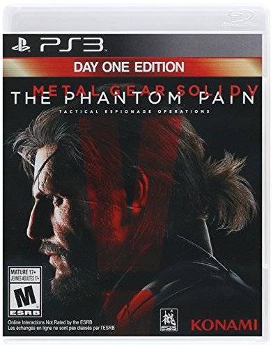 Metal Gear Solid V: The Phantom Pain - PlayStation 3 Day One Edition (Metal Gear Solid 5 Phantom Pain compare prices)