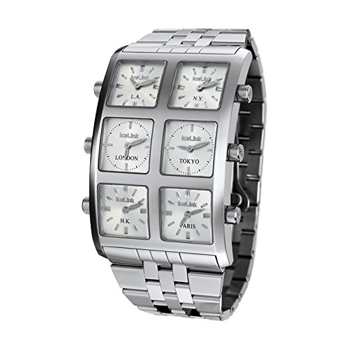 IceLink Ambassador Stainless Steel Men's Quartz Watch