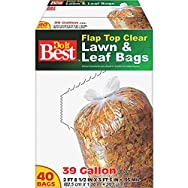 Do it Best Clear Lawn & Leaf Bag-39GAL/40CT LAWN/LEAF BAG
