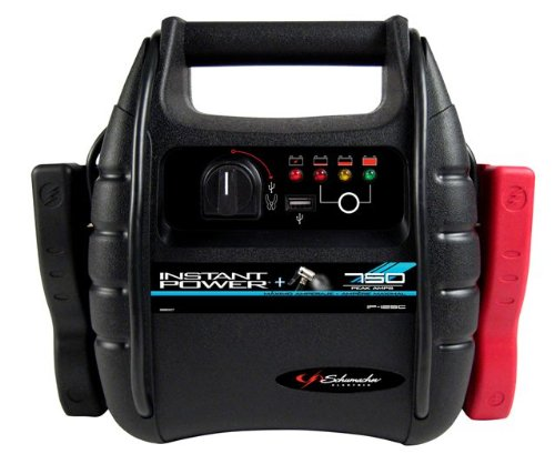 Schumacher IP-125C '12Ah' 12V Battery and Air Compressor