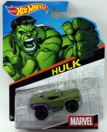 Hot Wheels, Marvel Character Car, Hulk #5 - 1
