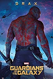 1 X Guardians Of The Galaxy - Movie Poster (Drax) (Size: 24\