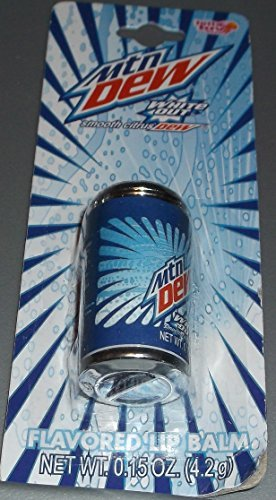 Lotta Luv Mountain Dew Flavored Lip Balm - Variety of Flavors Available - Mtn Dew Volage, Live Wire, White Out and More (White Out - Can) (Mountain Dew Live Wire compare prices)